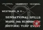Image of Meadow Brook Cup Chase Westbury New York USA, 1932, second 1 stock footage video 65675059260