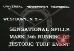 Image of Meadow Brook Cup Chase Westbury New York USA, 1932, second 2 stock footage video 65675059260