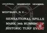 Image of Meadow Brook Cup Chase Westbury New York USA, 1932, second 3 stock footage video 65675059260