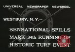 Image of Meadow Brook Cup Chase Westbury New York USA, 1932, second 4 stock footage video 65675059260