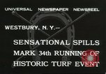 Image of Meadow Brook Cup Chase Westbury New York USA, 1932, second 5 stock footage video 65675059260