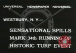 Image of Meadow Brook Cup Chase Westbury New York USA, 1932, second 6 stock footage video 65675059260