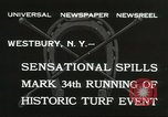 Image of Meadow Brook Cup Chase Westbury New York USA, 1932, second 7 stock footage video 65675059260