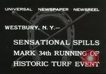 Image of Meadow Brook Cup Chase Westbury New York USA, 1932, second 8 stock footage video 65675059260