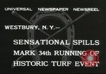 Image of Meadow Brook Cup Chase Westbury New York USA, 1932, second 9 stock footage video 65675059260