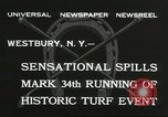 Image of Meadow Brook Cup Chase Westbury New York USA, 1932, second 11 stock footage video 65675059260