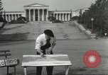 Image of salt painting Buffalo New York USA, 1932, second 12 stock footage video 65675059262