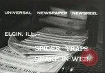 Image of snake Elgin Illinois USA, 1932, second 4 stock footage video 65675059264
