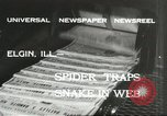 Image of snake Elgin Illinois USA, 1932, second 5 stock footage video 65675059264