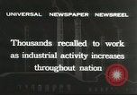 Image of factory jobs during Great Depression United States USA, 1932, second 4 stock footage video 65675059265