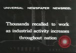 Image of factory jobs during Great Depression United States USA, 1932, second 5 stock footage video 65675059265