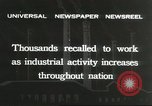Image of factory jobs during Great Depression United States USA, 1932, second 6 stock footage video 65675059265