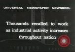 Image of factory jobs during Great Depression United States USA, 1932, second 7 stock footage video 65675059265