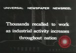 Image of factory jobs during Great Depression United States USA, 1932, second 8 stock footage video 65675059265