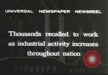 Image of factory jobs during Great Depression United States USA, 1932, second 9 stock footage video 65675059265