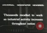 Image of factory jobs during Great Depression United States USA, 1932, second 10 stock footage video 65675059265