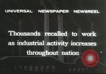 Image of factory jobs during Great Depression United States USA, 1932, second 12 stock footage video 65675059265