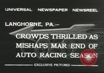 Image of car race Langhorne Pennsylvania USA, 1932, second 5 stock footage video 65675059267