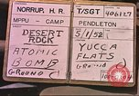 Image of Operation Desert Rock Las Vegas Nevada USA, 1952, second 2 stock footage video 65675059268