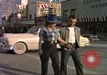 Image of Las Vegas club exteriors daytime 1950s Las Vegas Nevada USA, 1952, second 2 stock footage video 65675059272