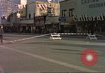 Image of Las Vegas club exteriors daytime 1950s Las Vegas Nevada USA, 1952, second 4 stock footage video 65675059272