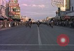 Image of Las Vegas club exteriors daytime 1950s Las Vegas Nevada USA, 1952, second 7 stock footage video 65675059272