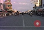 Image of Las Vegas club exteriors daytime 1950s Las Vegas Nevada USA, 1952, second 8 stock footage video 65675059272