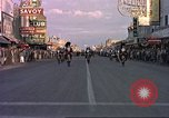 Image of Las Vegas club exteriors daytime 1950s Las Vegas Nevada USA, 1952, second 9 stock footage video 65675059272