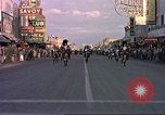 Image of Las Vegas club exteriors daytime 1950s Las Vegas Nevada USA, 1952, second 11 stock footage video 65675059272