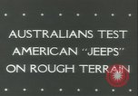 Image of jeep Pacific Theater, 1943, second 3 stock footage video 65675059288