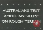 Image of jeep Pacific Theater, 1943, second 5 stock footage video 65675059288