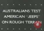 Image of jeep Pacific Theater, 1943, second 6 stock footage video 65675059288