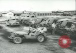 Image of jeep Pacific Theater, 1943, second 7 stock footage video 65675059288