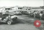 Image of jeep Pacific Theater, 1943, second 8 stock footage video 65675059288