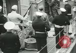 Image of U boat crew Portsmouth New Hampshire USA, 1945, second 12 stock footage video 65675059318