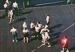 Image of German prisoners Atlantic Ocean, 1944, second 2 stock footage video 65675059327