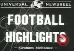 Image of football game New York United States USA, 1941, second 3 stock footage video 65675059334