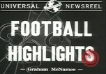 Image of football game New York United States USA, 1941, second 4 stock footage video 65675059334