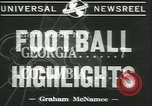 Image of football game New York United States USA, 1941, second 5 stock footage video 65675059334