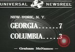Image of football game New York United States USA, 1941, second 6 stock footage video 65675059334