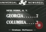 Image of football game New York United States USA, 1941, second 8 stock footage video 65675059334