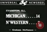 Image of football game Evanston Illinois USA, 1941, second 3 stock footage video 65675059336