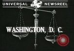 Image of Chief Justice Charles Evans Hughes Washington DC USA, 1940, second 2 stock footage video 65675059347