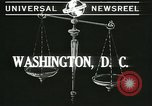 Image of Chief Justice Charles Evans Hughes Washington DC USA, 1940, second 3 stock footage video 65675059347