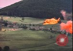 Image of USAAF P-47s drop napalm on German military installations Germany, 1945, second 8 stock footage video 65675059363
