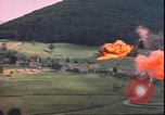 Image of USAAF P-47s drop napalm on German military installations Germany, 1945, second 9 stock footage video 65675059363