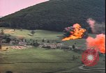 Image of USAAF P-47s drop napalm on German military installations Germany, 1945, second 10 stock footage video 65675059363