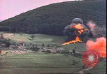 Image of USAAF P-47s drop napalm on German military installations Germany, 1945, second 12 stock footage video 65675059363