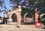 Image of damaged tiergarten zoo Berlin Germany, 1945, second 8 stock footage video 65675059364