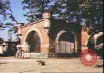 Image of damaged tiergarten zoo Berlin Germany, 1945, second 10 stock footage video 65675059364